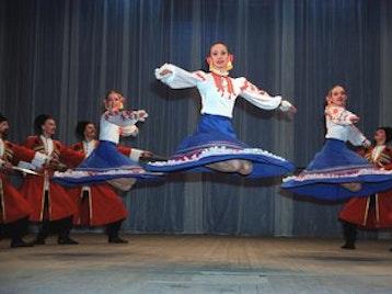 Russian Cossack State Dance Company artist photo
