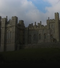 Arundel Castle artist photo
