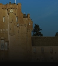 Crathes Castle and Gardens artist photo