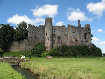 Laugharne Castle venue photo