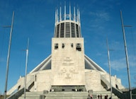 The Metropolitan Cathedral of Christ the King Liverpool artist photo