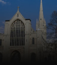 Norwich Cathedral artist photo