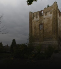 Guildford Castle artist photo