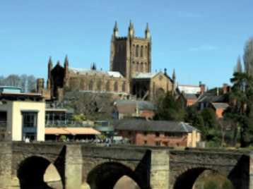 Hereford Cathedral picture