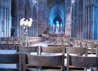 Lichfield Cathedral artist photo