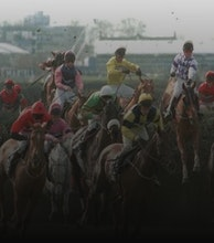 Aintree Racecourse artist photo