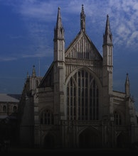 Winchester Cathedral artist photo