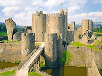 Caerphilly Castle picture