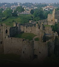 Chepstow Castle artist photo