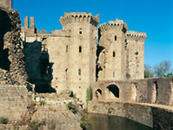 Raglan Castle venue photo