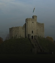 Cardiff Castle artist photo