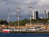 The Tall Ship At Glasgow Harbour photo
