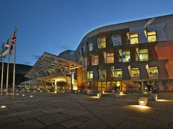 The Scottish Parliament Visitor Centre venue photo