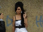 Tania Alboni as Amy Winehouse artist photo