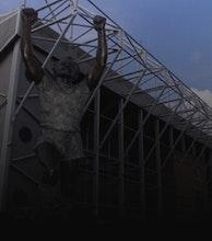 Elland Road Stadium & Centenary Pavilion artist photo