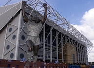 Elland Road Stadium & Centenary Pavilion artist photo