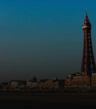 The Blackpool Tower artist photo