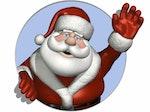 Father Christmas artist photo