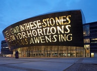 Wales Millennium Centre artist photo
