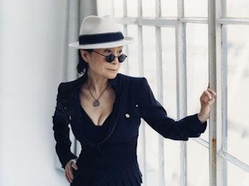 Yoko Ono artist photo