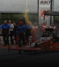 Santa Pod Raceway artist photo