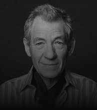 Ian McKellen artist photo