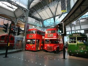 London Transport Museum venue photo