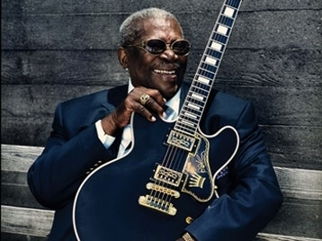 BB King artist photo