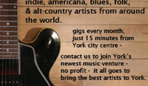 House Concerts York Events