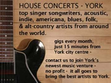House Concerts York venue photo