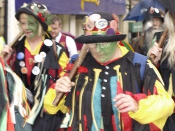 Cleckheaton Folk Festival venue photo