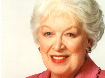 June Whitfield CBE artist photo