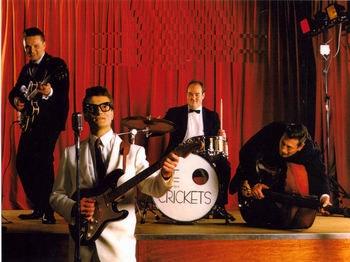 Marc Robinson & The Counterfeit Crickets Tour Dates