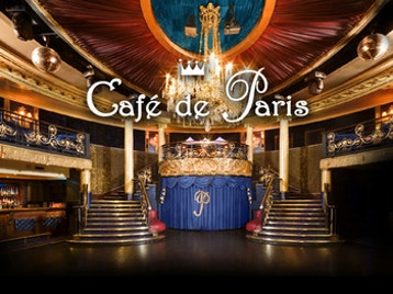 cafe de paris london upcoming events tickets 2018. Black Bedroom Furniture Sets. Home Design Ideas