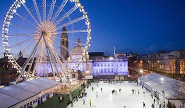 bmibaby Cardiff Winter Wonderland