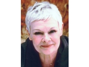 Dame Judi Dench artist photo