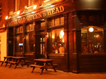 Old Queens Head picture