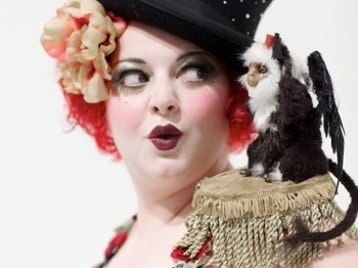 Gin House Burlesque: Ophelia Bitz, Missy Fatale, Sophia St. Villier, Lydia Darling picture