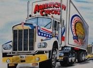 Uncle Sam's American Circus artist photo