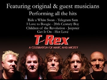 T-Rex artist photo