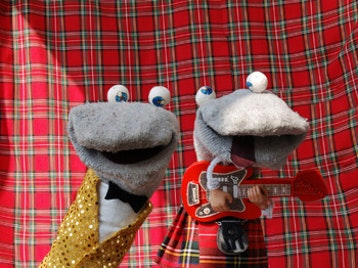 Happyness Inverness Comedy Festival 2013: Kids Show: The Scottish Falsetto Sock Puppet Theatre picture