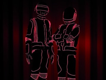 Daft Punk artist photo