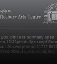 Shaftesbury Arts Centre & Oldmarket Playhouse artist photo