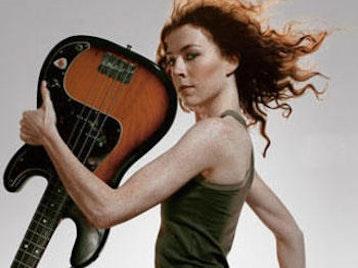 Melissa Auf der Maur artist photo