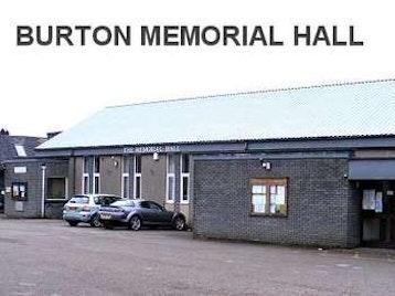 Burton Memorial Hall venue photo