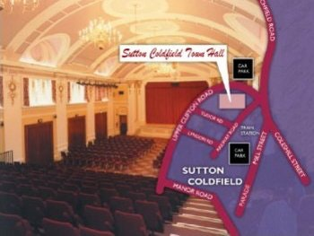 Sutton Coldfield Town Hall Events