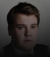 James Corden artist photo
