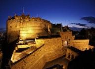 Edinburgh Castle artist photo