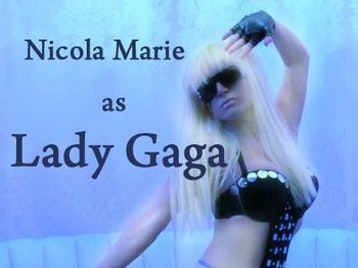 Nicola Marie As Lady GaGa picture