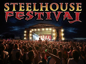 Steelhouse Festival : The Quireboys + The Black Spiders + Heavens Basement + TH3 + Bon Giovi + Pure Purple + Whitesnake UK - The Tribute + Hot Red Chili Peppers picture